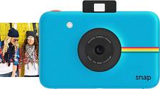 Zink Polaroid Snap Instant Digital Camera (Blue) With Zink Zero Ink Printing Tec