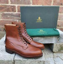 Crockett & Jones Snowdon Oak Wax Hide Main Line Collection Boots UK8