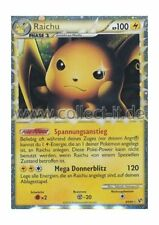 POKEMON HEARTGOLD SOULSILVER-courageusement 83/90 - Raichu allemand