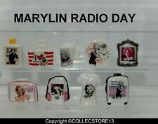 SERIE COMPLETE DE FEVES MARYLIN MONROE RADIO DAY 2021