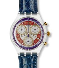 "Swatch Originals Chrono ""Ocean Breeze"" (sck107) nuevo, embalaje original"