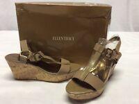 9976d4fbbdfc Ellen Tracy Brown Suede Leather Kitten Heel Pointed Toe Dress Pump ...