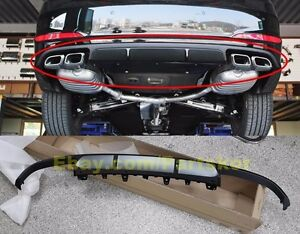 Fit For 2015~16 Hyundai Sonata LF TURBO Dual Rear Diffuser Muffler Cover Genuine