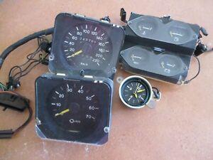 holden hz gts monaro dash gauges clock speedo tacho suit instrument cluster hj