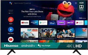 "Hisense 55"" A6G Series 4K UHD Android Smart TV - 4 HDMI - 2021"