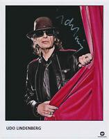 Udo Lindenberg - hand signed Autograph Autogramm COA Zertifikat - 20 x 26 cm