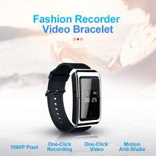 Digital Voice Recorder D6 Watch Camera 1080p Video Player DV Recorder built 32g