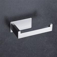 304 Stainless Steel Paper Holder Self Adhesive Wall Mount Bathroom Toilet