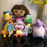 Dora the Explorer Plush Toy Dora/Boots/Swiper Fox/Kiko Stuffed Doll High quality