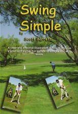 SWING SIMPLE GOLF INSTRUCTION DVD VIDEO - SCOTT BARRETT