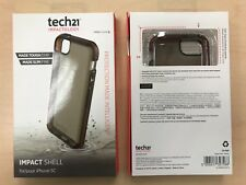Tech21 Silicone Impact Shell Case for iPhone 5C  Smokey T21-3525