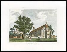 1783 Original Antique Print - HAMPSHIRE BEAULIEU ABBEY GREAT HALL (08)