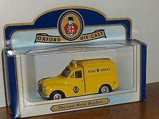 Oxford Diecast Morris Minor Van - AA MINOR VAN. Old Logo. Boxed Ltd Ed excellent