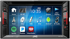 """New JVC KW-V140BT 6.2"""" Touchscreen Double Din Bluetooth DVD Player Car Stereo"""