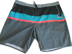 """NEW Men's XXXL 3XB 3XL Swimwear Nylon Swim Suit Trunks 47 - 52"""" Waist NWT"""