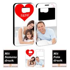 Samsung Galaxy S6 Individuelle Handyhülle mit Foto Text Bilddruck Schutzhülle