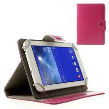 "Tablet Case/Schutz-Hülle - Universal 7"" Zoll - Deep Pink Klapp-Tasche"