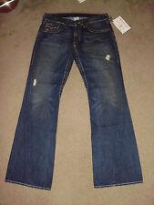 TRUE RELIGION Mens NWT RAINBOW JOEY 33 x 33 Muddy Waters USA 100% cotton Jeans