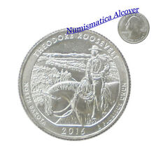 ESTADOS UNIDOS USA quarter dollar 2016 D THEODORE ROOSEVELT - NORTH DAKOTA UNC