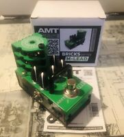 AMT Electronics Bricks M-Lead  (Marshall)- 1 channel tube guitar preamp Pedal