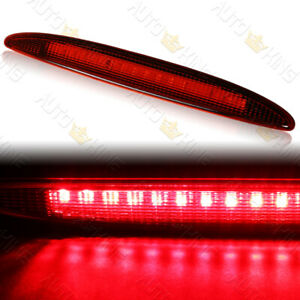 FIT 02-06 MINI COOPER R50 R53 RED LENS LED THIRD REAR BRAKE STOP LIGHT LAMP