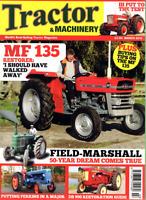 Tractor & Machinery Magazine. March 2013 -BUYING MF 135, FIELD-MARSHALL