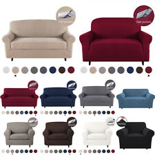2-Piece Stretch Sofa Cover Slipcover Armchair Couch Cover Furniture Protector