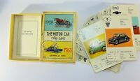 THE MOTOR CAR Card Game – 1908 to 1963 – Full Set of 40 Cards - Vintage Boxed