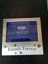'Friends Forever' Satin Silver Photo Frame-Shudehill