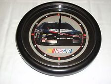 NASCAR MONTE CARLO #3 BATTERY OPERATED WALL CLOCK.