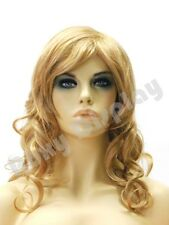 Female Wig Mannequin Head Hair #WG-OK855-27H613