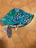 NWT Tuga Girls Reversible Bucket Sun Hat UPF 50+Large