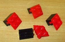 351 Lego Lochstein 2x2 mit Gelenk new Dunkelgrau Schwarz