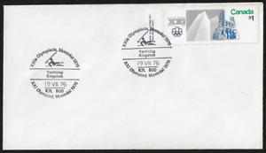 Canada Souvenir Cover — 1976, XXI Olympiad Montreal: Yachting #687 Lot 681