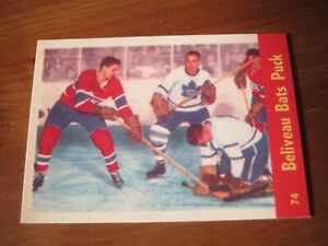 2001 02 Parkhurst Reprints #009 Jean Beliveau - Montreal Canadiens 1963 64   ZH1