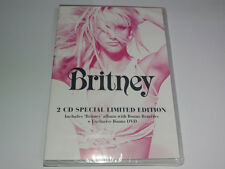 BRITNEY SPEARS - BRITNEY (KOREAN Rare Limited Edition CD+DVD / FACTORY SEALED!)