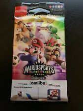 SUPER MARIO SPORTS SUPERSTARS AMIIBO PACKET! 1 x PACKET OF 3 CARDS