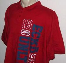 NEW 5XB ECKO UNLTD MENS POLO SHIRT Red Blue Short Sleeve 5X 5XL