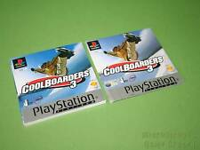 Playstation PS1 Instruction Manual & Front Artwork - Cool Boarders 3 *No Game*