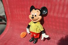 New listing Disney Mickey Mouse Plastic Toy Doll articulated Figure R. Dakin 1960's