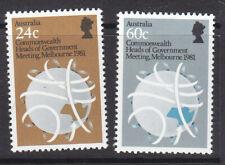 Australia 1981 Government Heads MNH