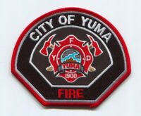Yuma Fire Department Patch Arizona AZ v2