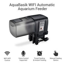 Automatic Fish Feeder Auto Food Timer For Aquarium Tank WiFi Feeding Dispenser