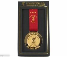 LIVERPOOL UEFA CHAMPIONS LEAGUE 'CHAMPIONS OF EUROPE' ROME 1984 BOXED MEDAL