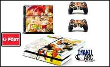 PS4 Skin - Dragonball Z DBZ2 - Playstation 4 Console+2 Controllers Skin set