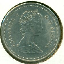 1989 CANADA FIVE CENTS, CHOICE BRILLIANT UNCIRCULATED, GREAT PRICE!