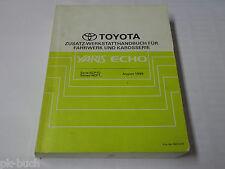 Manuale D'Officina Toyota Yaris / Eco Corpo / Telaio Etc. Stand 08/1999