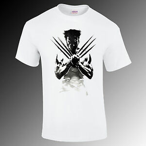 The Wolverine artistic printed t-shirt, movie, super hero Gift Funny S-XXL