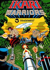 Ikari Warriors Sideart Set (2 pc set)