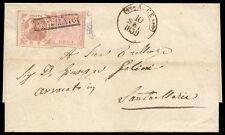 NAPOLI 1859 - 2 + 1 gr. n. 3+7 ARCE p. 8 FERRARIO € 1.130